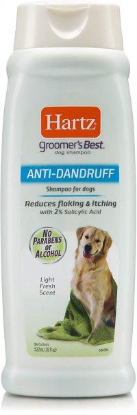 best dog hair shampoo for dandruff